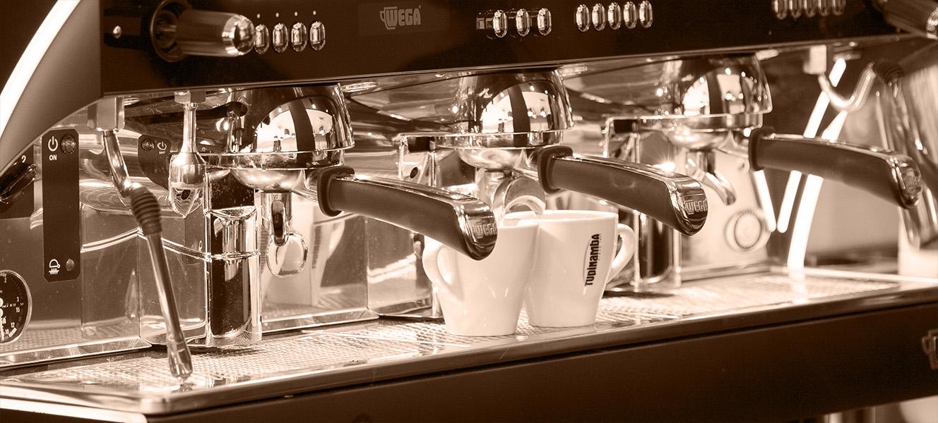 Fotografies de la cafeteria Davinci, propietat del Grup mardel